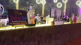 Bar setup in India for party and event #Bartender #indianBarSetup
