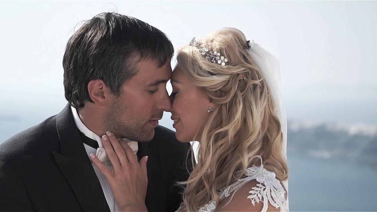 Портфолио организации свадьбы на Санторини - Натали и Левон