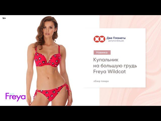 Видео Купальник (бюст) FREYA WILDCAT 6881, Коралл