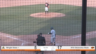 Oklahoma State Cowboy Baseball vs. Wright State - Game 2
