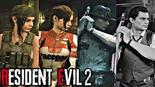 Resident Evil 2 Remake - All Deluxe Edition Costumes / Outfits