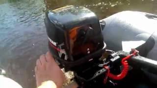 давление в лодке хантер 335