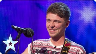 Jordan O'Keefe Sings One Direction's 'Little Things'   Week 2 Auditions | Britain's Got Talent 2013