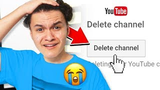 Deleting Little Brothers Channel PRANK (FaZe Jarvis)