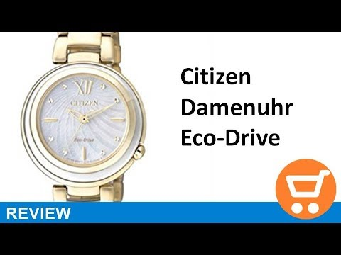 Citizen Damen-Armbanduhr Elegance Analog Quarz, eco-drive - Review | deutsch / german