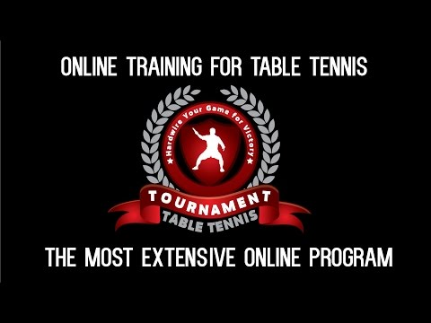 Online Training for Table Tennis Program
