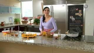 Tu cocina - Ensalada girasol de flor de calabaza
