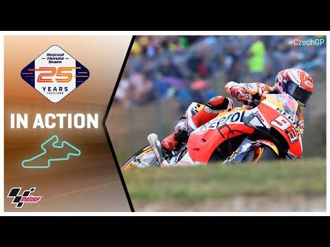 Honda in action: Monster Energy Grand Prix České republiky