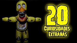 TOP 20: Las 20 Curiosidades Extrañas De Chica De Five Nights At Freddy's   fnaf