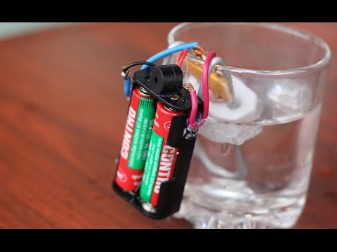 Come fare un allarme acqua