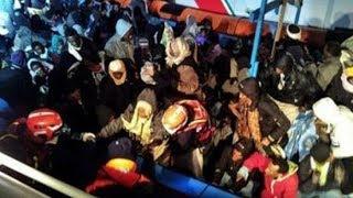 Мигранты в Сардинии.