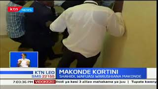 Makonde Kortini: Shahidi,Wafuasi  wakabiliana huko Budalangi