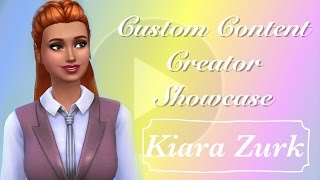 Sims 4 Custom Content Creator Showcase: Kiara Zurk
