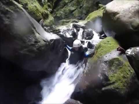 Canyoning Seixal Madeira, Portugal