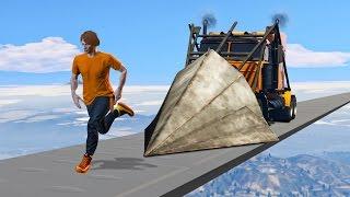 WORLD'S HARDEST IMPOSSIBLE DEATHRUN! (GTA 5 Funny Moments)