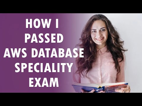 How to pass AWS Certified Database Specialty Exam? - YouTube