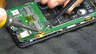 Не включается / Не реагирует на кнопку включения. Смартфон Lenovo A536