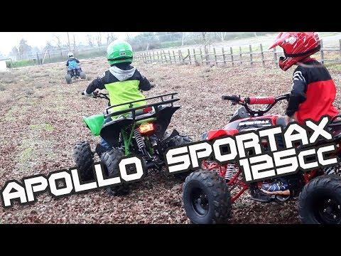 Quad de Gasolina Apollo Sportax 125cc - BipAndBip
