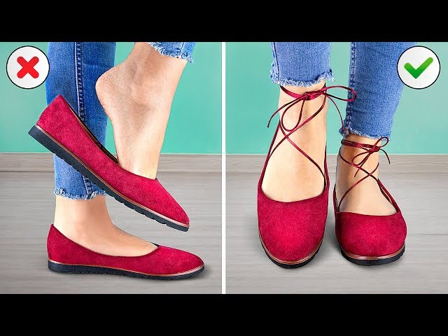 Easy Ways To Improve Your Shoes / Smart Girly Hacks