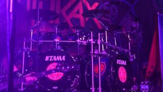 Anthrax live in Chicago at Concord Music Hall - Belly of the Beast