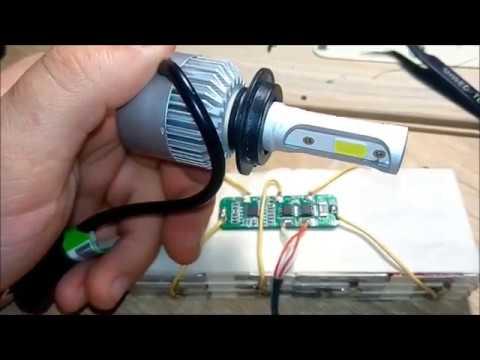 Ремонт автомобильной LED лампы