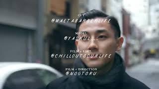 [メンズ髪型:ヘアセット] 気分で変えるミディアムレングスのセットアレンジ/センターパートからサイドパートのポマードの使い分け- MAETA BARBER LIFE - 大阪 Odouds