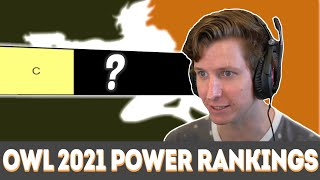 Those that have a lot to prove -- OWL 2021 Power Rankings C Tier