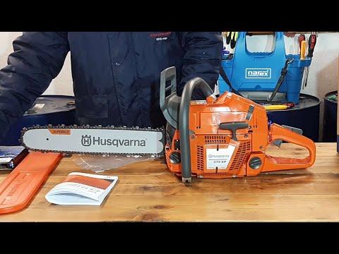Husqvarna 372 XP 28'' Chain Saw Machine Electric