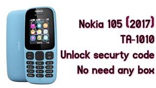 nokia 105 remove security code - Video hài mới full hd hay nhất
