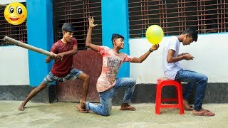 New Funny Videos 2019 || Best Comedy Video Episode -- 02 || Monirul Official