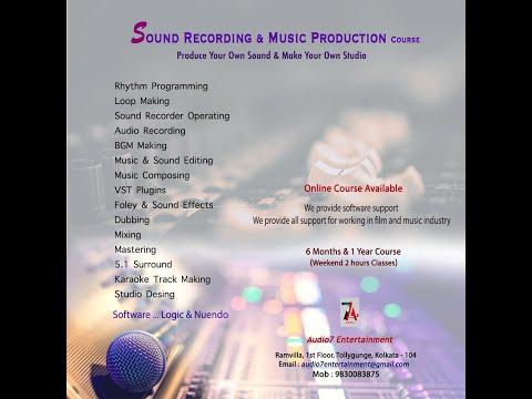 Sound Engineering & Music Production Course Kolkata|Cheap ...