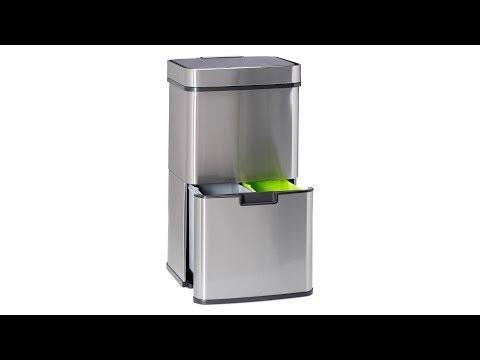 Mülltrennsystem 3 fach mit Sensor