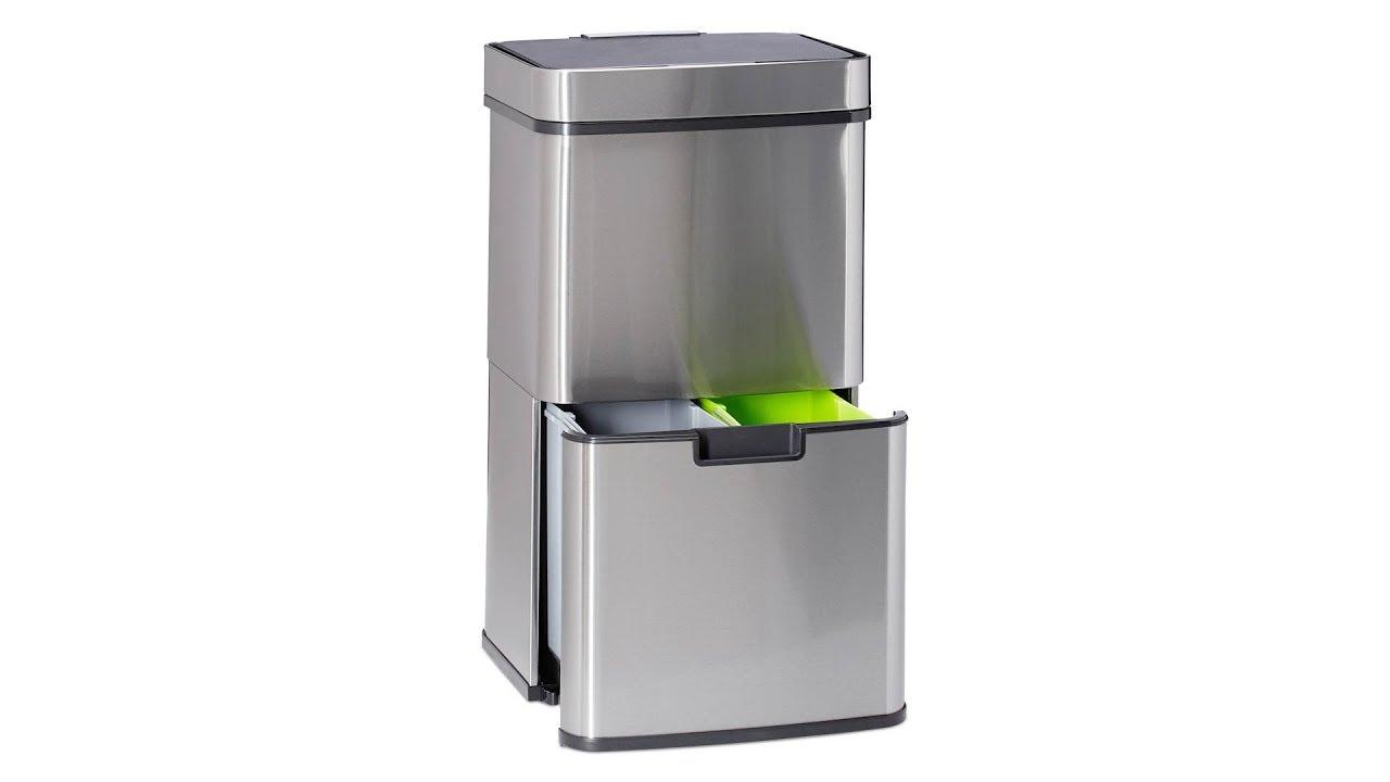 Video von: Mülltrennsystem 3 fach mit Sensor