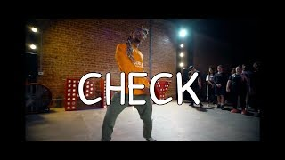 "RAYE & KOJO FUNDS ""CHECK"" OFFICIAL VIDEO #DEXTERCARRCHOREOGRAPHY"