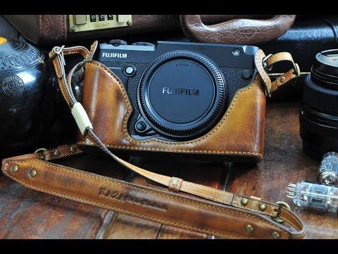 Fujifilm GFX50R Leather Camera Case