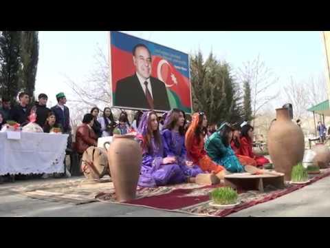 Mingəçevir Turizm Kollecində möhtəşəm Novruz şənliyi