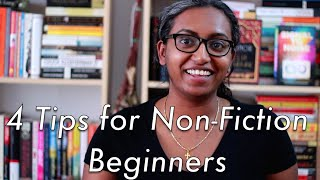 4 Tips For Non-Fiction Beginners