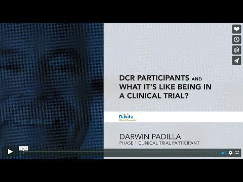 iSupportResearch: Darwin Padilla, Phase 1 Clinical Research Participant