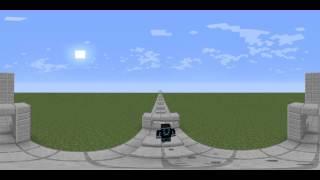 (тест) minecraft - паркур 360 градусов