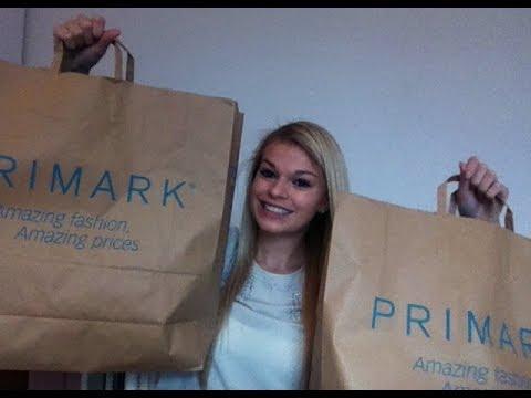 Shoplog Primark: november 2013