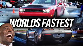 TAKING ALL THE RECORDS. 👀 The Worlds Fastest ZR1 & Dodge Demon Personal BEST 1/4 MILE | Demonology