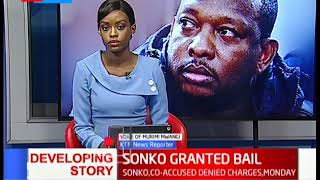 Sonko Granted Bail: He will be escorted to pick his personal belongings at the county offices