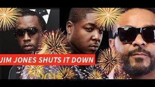 Jim Jones and Jadakiss SHUT DOWN Diddy Ultimate 2018 New Years Party, Jim Jones Stunts on a yacht