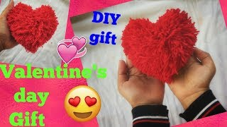 DIY Valentines Day Gift... Handmade Gift Idea..DIY Heart