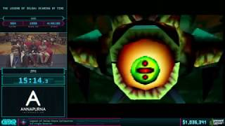 AGDQ 2018 - The Legend of Zelda: Ocarina of Time 100% Speedrun in 4:33:19 by ZFG