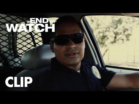 "Video trailer för End of Watch | ""Starbucks"" Clip | Global Road Entertainment"