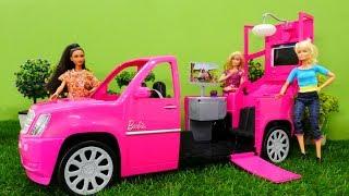 Кукла Барби устраивает пикник - Видео для девочек