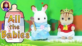 Opening The Rest Of The Babies (including The Nursery Bus) - Calico Critters / Sylvanian Families