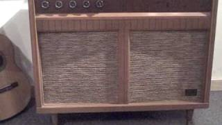 Zenith Console Stereo Record changer