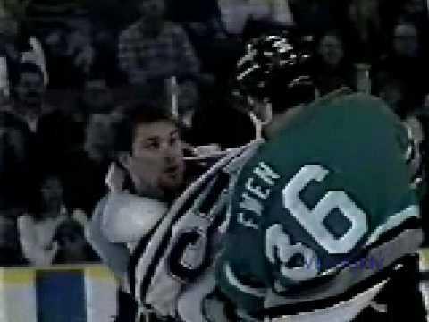 Louie Debrusk vs. Todd Ewen